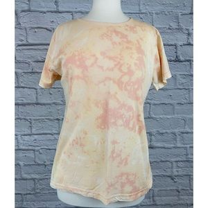 GAP Factory Bleach Dye / Reverse Tie Dye Tee Shirt